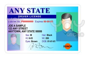 State or government-issued ID and a Social Security card in a new name can't be issued without a court ordered name change.