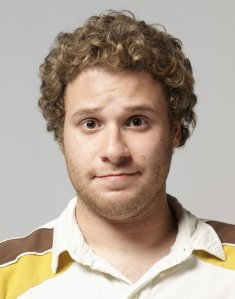 """I will look 20 until I'm at least 53!"" Seth Rogan on curly hair and boyish charm."