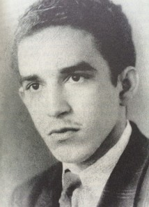 Gabriel García Márquez with his own bad teenage mustache.