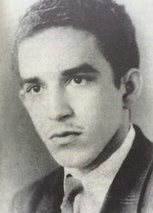Gabriel García Márquez with his own bad teenage mustache.