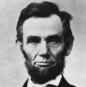 """Thoreau is right about that whole hair/chin curtain balance thing. Whatever you do, don't trim the beard!"" Lincoln advised"
